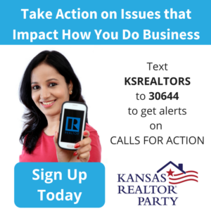 Kansas REALTOR® Party - Text KSREALTORS to 30644 to get alerts