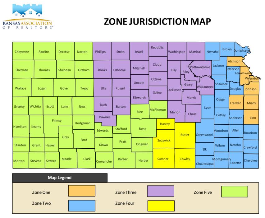 KAR Zone Jurisdiction Map