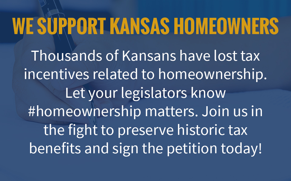 We Support Kansas Homeowners